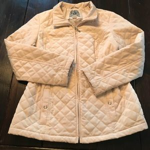 Esprit Quilted Jacket Sz Large